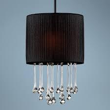 black crystal pendant light black crystal mini pendant lights penchant 15 high crystal and