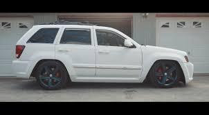 jeep slammed anthony u0027s bagged srt8 fire u0026 ice youtube
