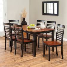 Black And White Dining Room Chairs by Boraam Bloomington Dining Table Set Black Cherry Hayneedle