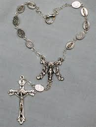 auto rosary miraculous medal auto rosary one decade catholic superstore