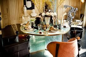 Kelly Wearstler Lighting by Eclectic Company Kelly Wearstlersets A Chic Table Vogue