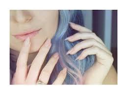 acrylic nails at home natural pink blush nails diy nails youtube