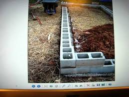 raised bed garden using cinder blocks and hoophouse video two of
