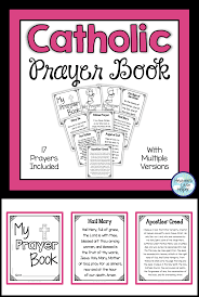 printable catholic prayer book for kids this is a great activity
