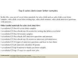 top 5 sales clerk cover letter samples 1 638 jpg cb u003d1434617168