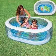 Intex Inflatable Pool Intex Oval Whale Fun Pool 57482 Devil Deals