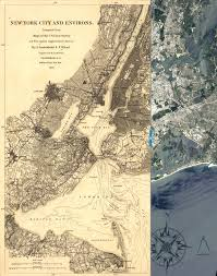 Nyc City Map Check Out This Vintage Map Of New York City From 1860 Overlaid