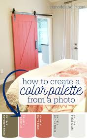 apps to match and find paint color palettes from a photo