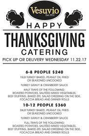thanksgiving dinner delivered vesuvios bay ridge thanksgiving dinner delivered