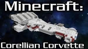 wars corellian corvette minecraft wars corellian corvette cr90 tutorial 1 2th