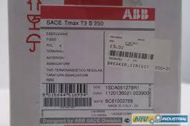 new abb 1sda051279r1 sace tmax t3s 250 4p 200a 690v ac circuit