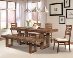 rustic modern dining room tables modern design ideas