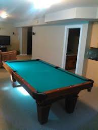 Peter Vitalie Pool Table by Brunswick Billiards Black Gold Crown Pro 8 U0027 Pockets Sold Used