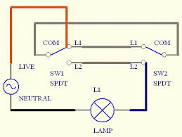 Three Way Light Switch Wiring Diagram Wiring Diagram Two Way Switch 3 Way Light Switch Wiring Diagram