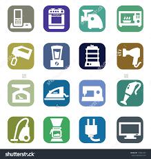 Appliance Stock Vectors Vector Clip Art Shutterstock Modern Thin
