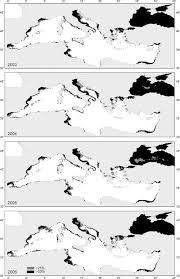 Aegean Sea Map Mediterranean Sea Map Of Areas Representing Anchovy Potential