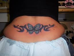 tribal butterfly set for lower back in 2017 photo