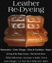 Leather Sofa Dye Repair by Chameleon Leather Home