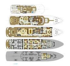 Luxury Plans Mustique Luxury Yacht Deck Plans Yachts Pinterest Deck Plans