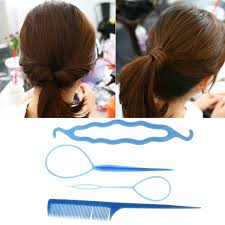 bun accessories hair twist styling clip stick bun maker braid hair