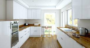 cuisine blanc laqué plan travail bois cuisine blanc laque plan travail bois cuisine plan travail cuisine