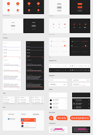 material design kit android gui
