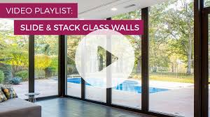 frameless glass stacking doors no post corner stacking glass wall by solar innovations inc