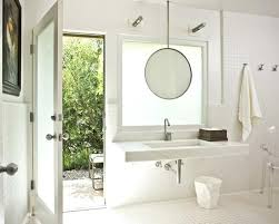how to frame a bathroom mirror with clips hanging bathroom mirror houzz pertaining to remodel 0 warface co