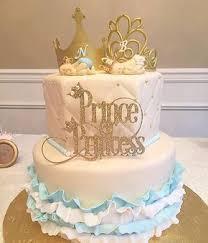 gender reveal cake toppers gender reveal prince or princess topper gender reveal gender