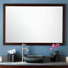 vanity bathroom mirror everett vanity mirror wenge bathroom