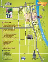 kansas walk in map wayside tour of leavenworth ks visit leavenworth kansas