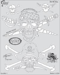 artool freehand airbrush templates tell no tales template by