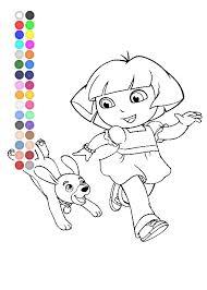 Dora The Explorer Coloring Pages Nick Jr Coloring Pages Youtube Nick Jr Coloring Pages
