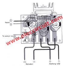 car audio amplifier circuit 50w 65w eleccircuit com