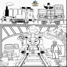 brilliant thomas train printable christmas coloring pages