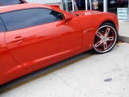 2012 orange camaro inferno orange camaro on custom wheels spade kreations 2012