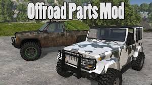 modded white jeep h v gaming s4 e2 beamng drive offroad parts mod epic wheel