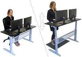 Standing Sitting Desk by Stand Steady Launches The Transcendesk Standing Desk