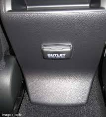 subaru power outlet a 110v 2 prong outlet