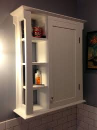 Bathroom Storage Cabinet Ideas Modification And Customization In Bathroom Wall Cabinets