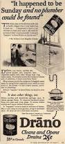 Drano Kitchen Sink by Drano Ad 1920 There U0027s A Lot Of Strange Uses Here Cleaning The