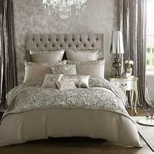 silver bed kylie minogue alexa soft silver bed linen bedding range duvet