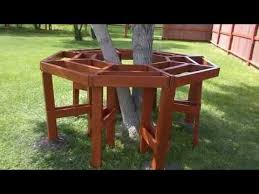 how to build a octagon picnic table youtube