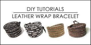 wrap bracelet tutorials images Ice cream when the sky is grey diy chan luu style leather wrap jpg