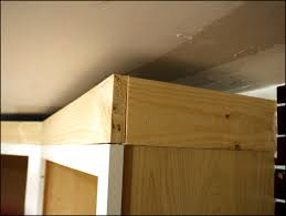 how to install crown molding on kitchen cabinets 15 various ways to do how to install crown molding on kitchen