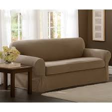 Couch With Slipcover Darby Home Co Box Cushion Sofa Slipcover U0026 Reviews Wayfair