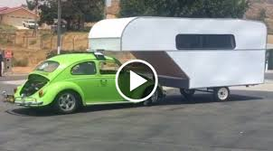 green volkswagen beetle 2016 the craziest volkswagen bug rv camper combo we have ever seen