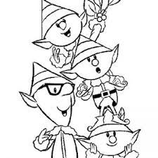 printable elf coloring pages coloring pages of an elf fresh christmas elves coloring pages