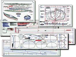 stitch and glue sea kayak plans full size building templates