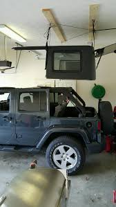 94 jeep wrangler top harken wrangler hoister garage storage 4 point lift system 7803b